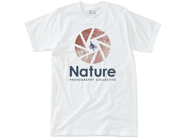 Hippy Tree Shutter T-shirt Homme, white